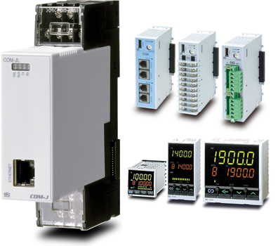 RKC Instrument COM-JL Modbus/TCP fieldbus interface for FB series and SRZ system