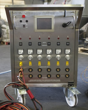 6 or 12 channel PWHT heat-treatment control system PWHT