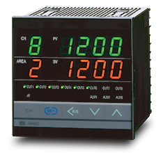 RKC Instrument MA900 MA901 4 of 8 kanaals temperatuurregelaar in compacte behuizing