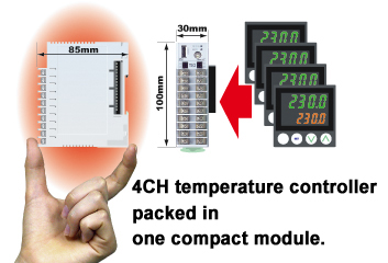 RKC Instrument 4 channel temperature control module